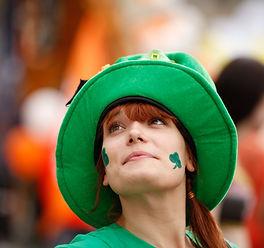 Mujer irlandesa