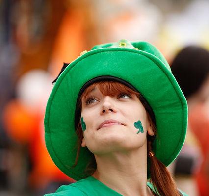 Irische Frau