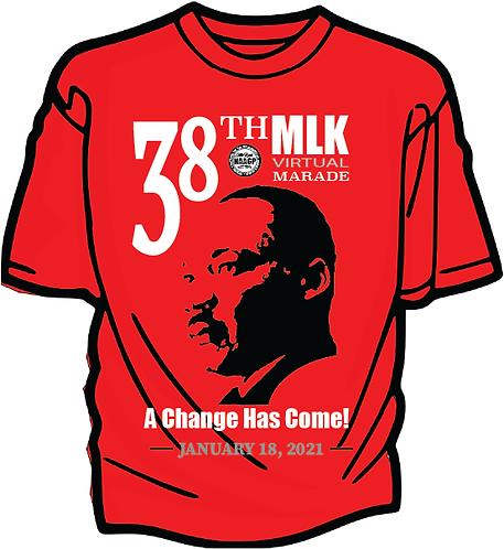 38TH NAACP MLK Marade T-shirt