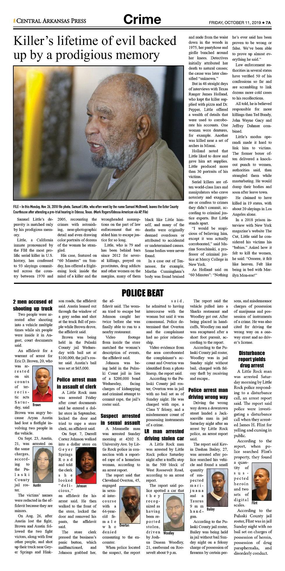 Friday, October 11, 2019; Vo1., Issue 2