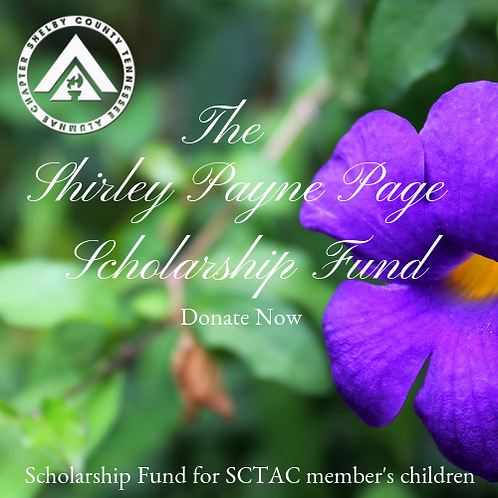 The Shirley Payne Page Scholarship Fund