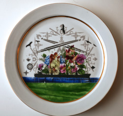 Flowership plate