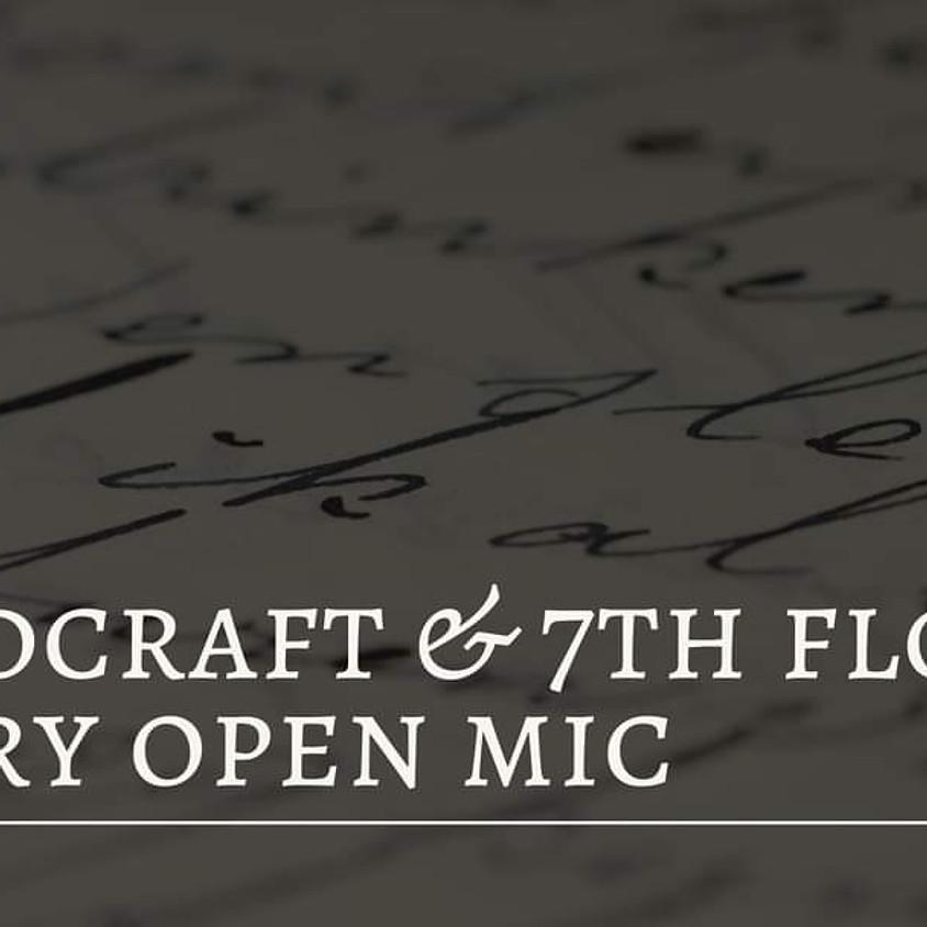 Wordcraft & 7th Floor Poetry Open Mic