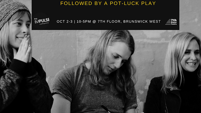 Introduction to Meisner followed by a Pot-Luck Play