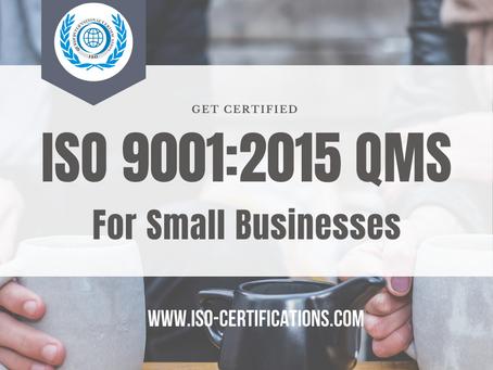 ISO 9001:2015 Unchanged