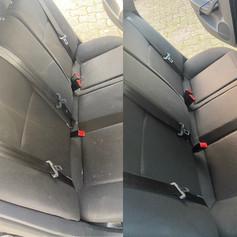 diep reiniging auto stoelen