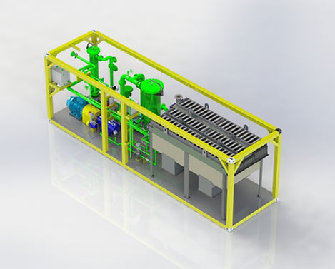 modular VRU for carbon capture and storage vapor recovery unit