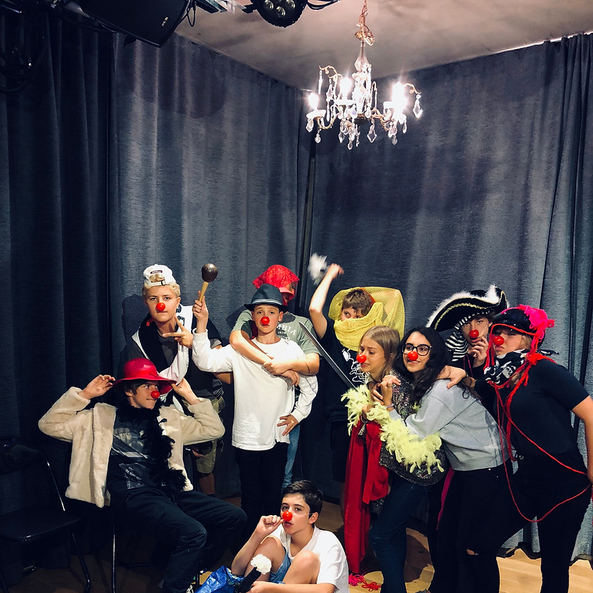 Improvisation & Physical Comedy (Ages 13 - 21)