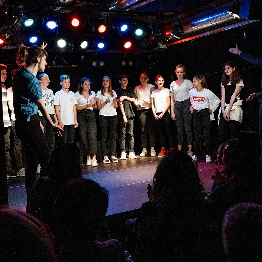 Advanced Weekend Intensive - Improvisation & Physical Comedy (Ages 13-18)