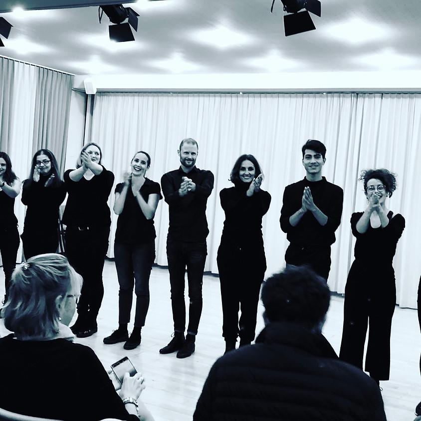 Adult Taster Workshops (Dance, Improv & Art) - Tuesday, November 24