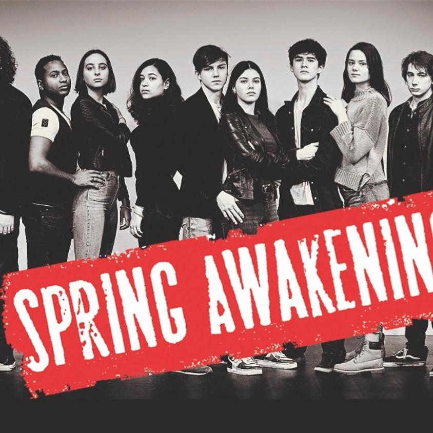 SPRING AWAKENING - THE ROCK MUSICAL  AUDITION!
