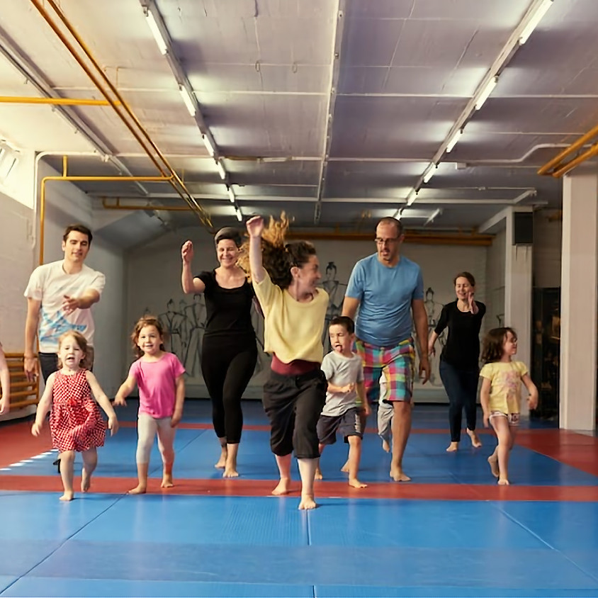 Parent and Child Movement Class (Age 3-5)