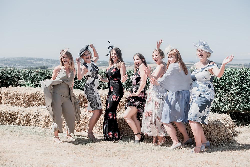 Wedding Guests, Farm Wedding, Devon, Photography, Summer Wedding