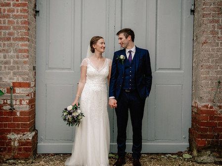 Rockbeare Manor Wedding Photography- Emma & Matthew's intimate wedding