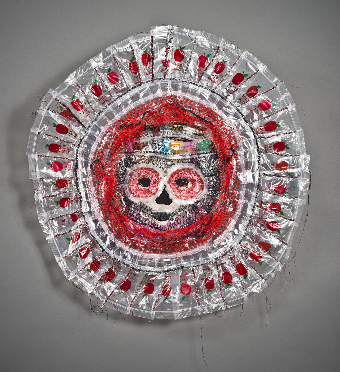Plastic Mala Death Mask