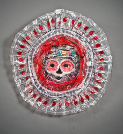 Plastic Mala Death Mask
