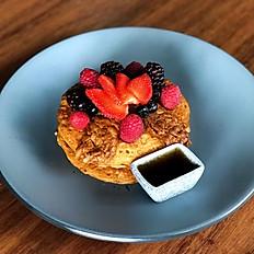 Pancakes con tocino de tempeh y maple (3)