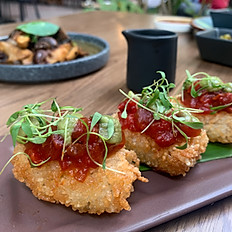 Spicy Ahi Rice Cakes (3)
