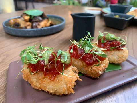 spicy ahi rice cakes.JPG