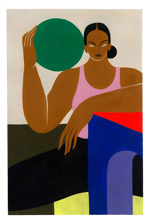 Untitled by Hilda Palafox (18 x 26.5 cm)