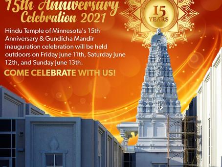 15th Anniversary Program