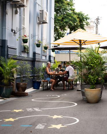 The Bank Cafe Laneway