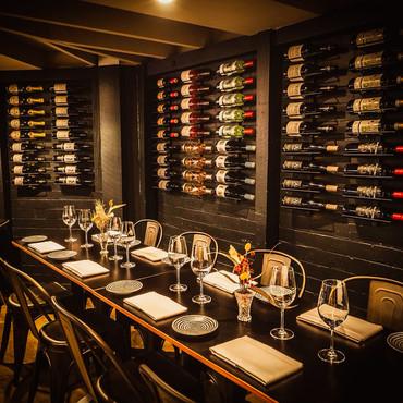 The Loft Restaurant Cellar