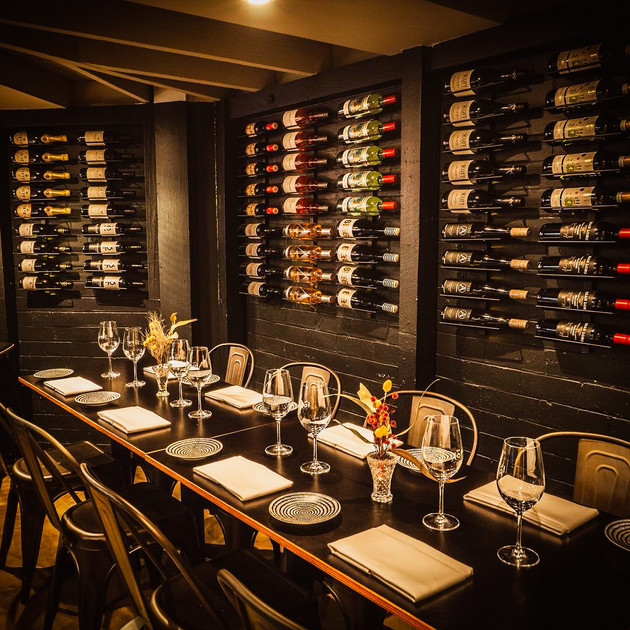 The Loft Restaurant Cellar