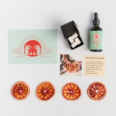 Gift Box Flat Lay