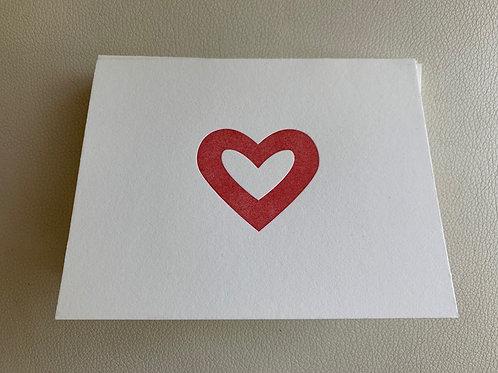 """""""Big heart""""card"""