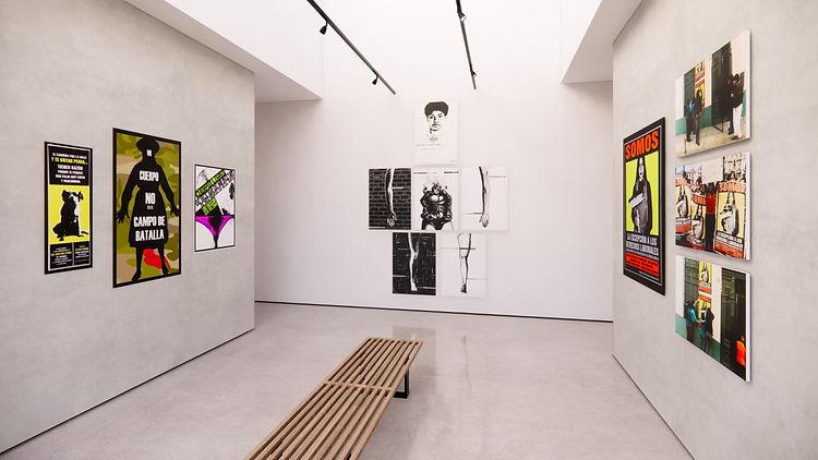 Exhibition view of Natalia Iguiñiz
