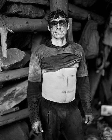 Retratos: Cajamala | Portraits: Cajamala, 2019-2020  Impresión por gelatina de plata | Gelatin silver print  Image size: 23 x 19 cm | Final framed size: 42 x 38 cm  Ed. 1/3