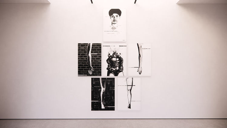 Natalia Iguiñiz. Vigil Gonzales galería. Obra gráfica.