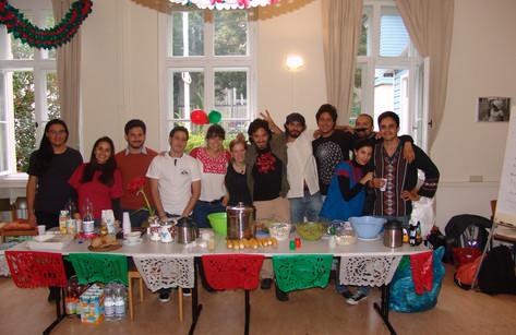 """Fiesta mexicana 2013 y kermes """"Hermanos en el camino"""""""