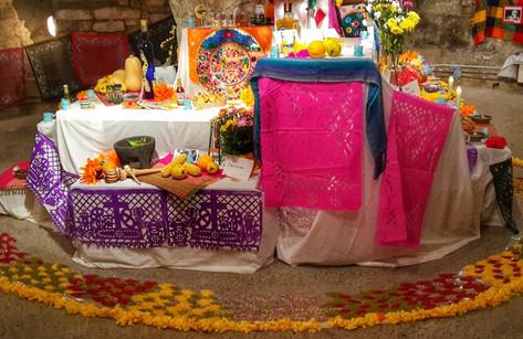 Altar de día de muertos 2015