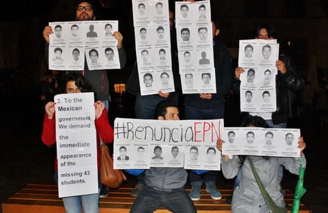 Contexto histórico e información actual sobre el caso de los 43 estudiantes desaparecidos