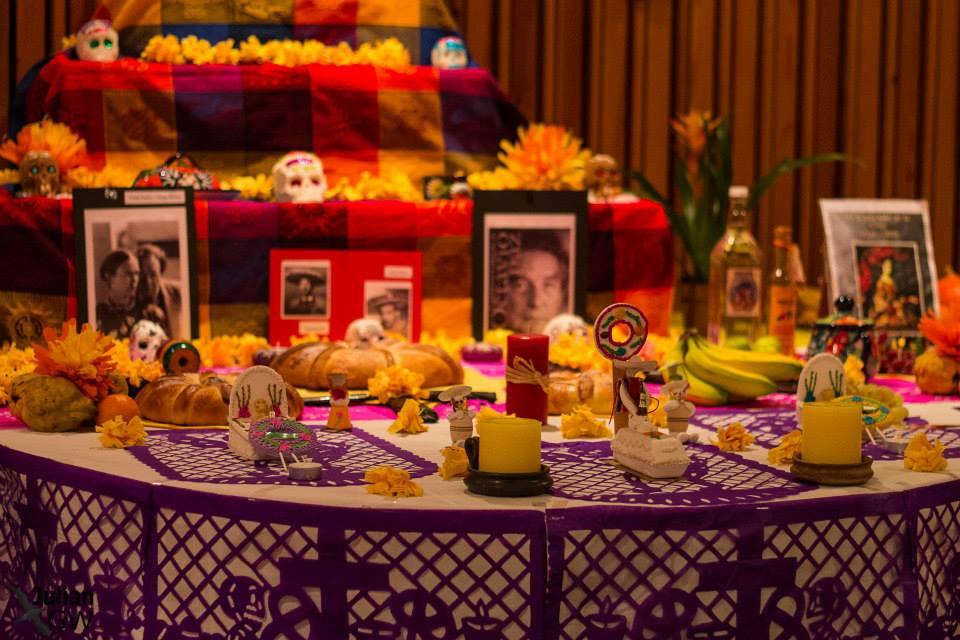 Altar de día de muertos 2013