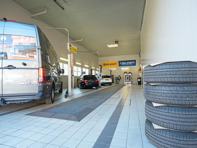 Station 276 Werkstatt innen