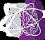 eh-violeta  so atomo branco sem escrita.