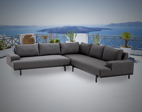 Barbados 2 Piece Sectional Group with Sunbrella Cushions