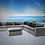 Thumbnail: Bora Bora 8 Piece Sectional Seating Group with Sunbrella Cushions