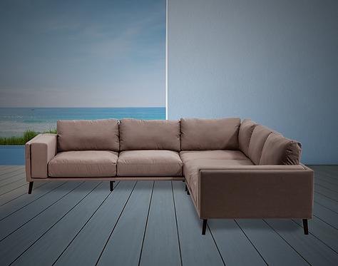 Malibu 2 Piece Sectional with Sunbrella Cushions