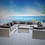 Thumbnail: Bora Bora 11 Piece Sectional Seating Group with Sunbrella Cushions