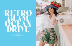 Retro Glam Ocean drive