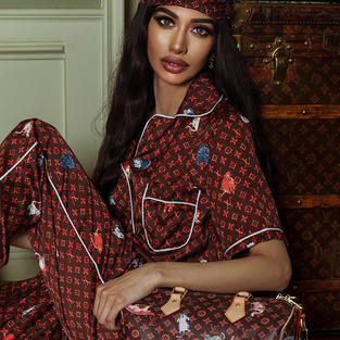 Farah Zulaikha Is A Louis Vuitton Icon