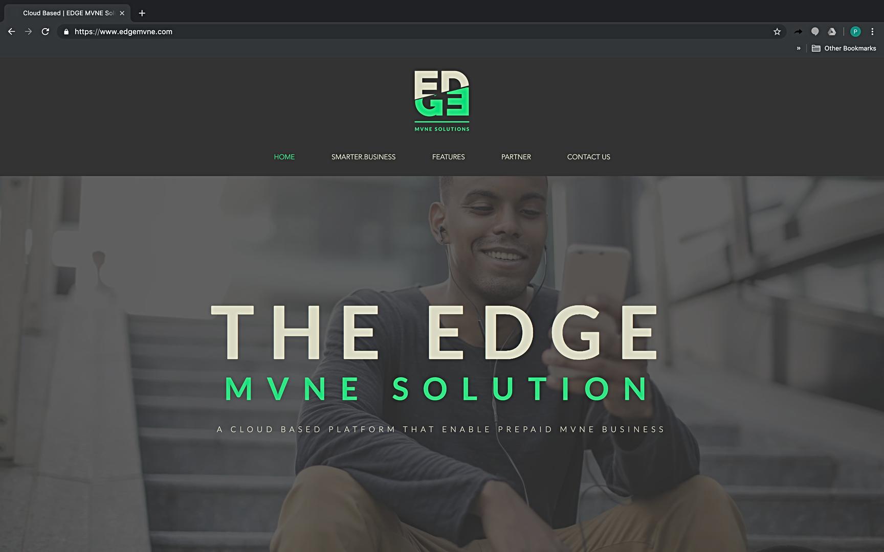 EDGE MVNE website
