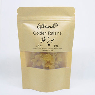Golden raisins 50g