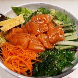 Salmon-poke