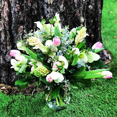 Mixed Spring Vase.