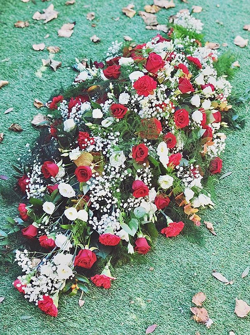 Coffin Top (Sympathy Flowers)
